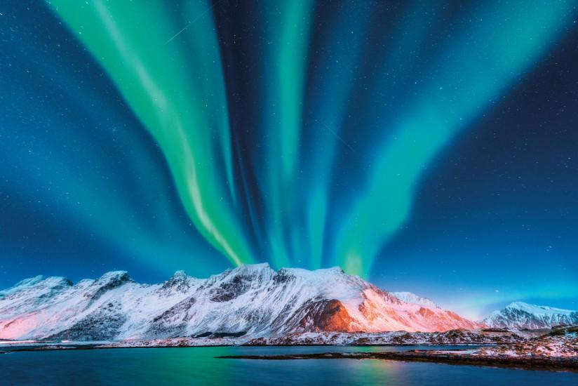 La noche polar. © D. Belitsky/Shutterstock